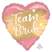 """Satin Luxe Team Bride 18"""" Foil Balloon"""