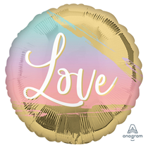 """Sunset Love Pastel 18"""" Foil Balloon"""