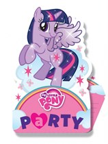 My Little Pony Stand-Up Invitations & Envelopes 8pk