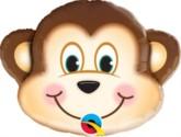 "Mischievous Monkey Mini Shape 14"" Foil Balloon"