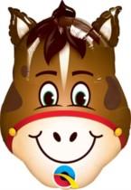 "Hilarious Horse Mini Shape 14"" Foil Balloon"