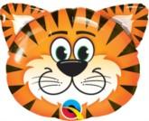 "Tickled Tiger Mini Shape Foil Balloon 14"""