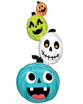 Halloween Pumpkin Stacker Multi Foil Balloon