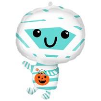 """Halloween Mummy 22"""" Foil Balloon"""