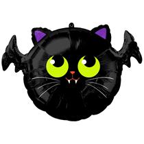Halloween Batcat Standard Foil Balloon