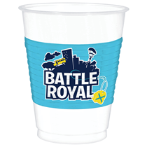 Battle Royal Party Plastic Cups 8pk