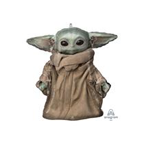 "Mandalorian Baby Yoda 23"" SuperShape Foil Balloon"