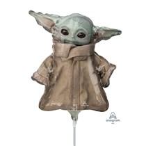 Mandalorian Baby Yoda Child Mini Shape Foil Balloon (air fill)