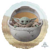 "Mandalorian Baby Yoda 18"" Foil Balloon"