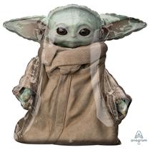 "Mandalorian Baby Yoda 31"" AirWalker Foil Balloon"