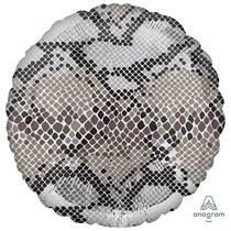 "Snake Animal Print 18"" Foil Balloon"