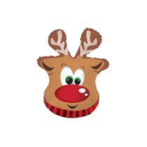 "Christmas Reindeer 9"" Mini Shape Foil Balloon"