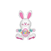 Easter Rabbit Bunny Air Fill Mini Foil Balloon