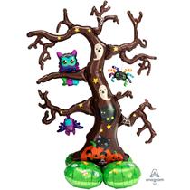 "Halloween Creepy Tree 62"" AirLoonz Foil Balloon"