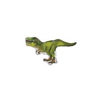 """Mini T-Rex Dinosaur 12"""" Air Fill Foil Balloon"""