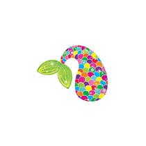 """Colourful Mermaid Tail 14"""" Mini Shape Foil Balloon"""
