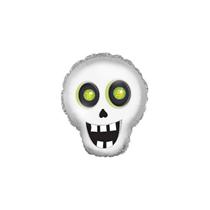 """Halloween Silly Skull 12"""" Mini Shape Foil Balloon"""