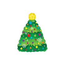 "Christmas Tree 9"" Mini Shape Foil Balloon"