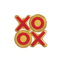"""Valentine XOXO Mini Shape 12"""" Foil Balloon"""