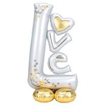 "AirLoonz Love 58"" Foil Balloon"