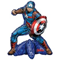Avengers Captain America Sitter Multi Foil Balloon