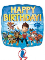 "Paw Patrol Happy Birthday 18"" Foil Balloon"
