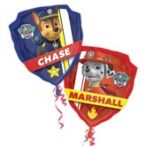 """Paw Patrol Double-Sided SuperShape Foil Balloon 27"""""""