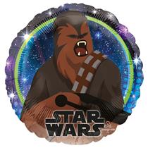 "Star Wars Chewbacca 18"" Character Foil Balloon"