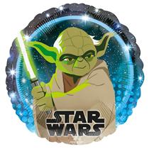 """Star Wars Yoda 18"""" Character Foil Balloon"""