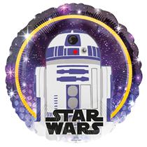 "Star Wars R2-D2 18"" Character Foil Balloon"
