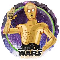 "Star Wars C-3PO 18"" Character Foil Balloon"