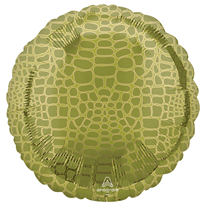 "Alligator Animal Print 18"" Foil Balloon"