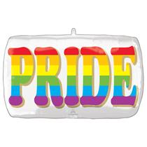 """Pride Rainbow SuperShape 28"""" Foil Balloon"""