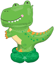 T-Rex Dinosaur AirLoonz Foil Balloon