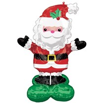 Christmas Santa AirLoonz Foil Balloon