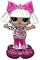 LOL Surprise Doll Diva AirLoonz Foil Balloon