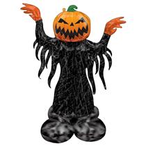 Halloween Scary Pumpkin AirLoonz Foil Balloon