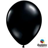 "Black 11"" Latex Balloons 6pk"