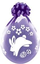 "Easter Bunny Latex 18"" Stuffing Balloons 25pk"