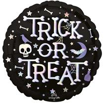 "Halloween Trick Or Treat 18"" Foil Balloon"