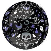 Halloween Moonlight Orbz Foil Balloon
