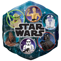 "Star Wars Galaxy 23"" SuperShape Foil Balloon"