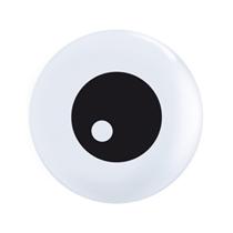 "Eyeball Top Print 11"" Latex Balloons 50pk"