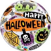 Happy Halloween Bubble Balloon