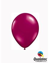"Qualatex Jewel 5"" Sparkling Burgundy Latex Balloons 100pk"