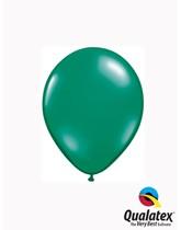 "Qualatex Jewel 5"" Emerald Green Latex Balloons 100pk"