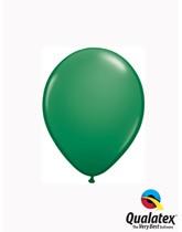 "Qualatex Standard 5"" Green Latex Balloons 100pk"