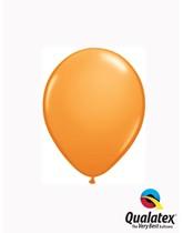 "Qualatex Standard 5"" Orange Latex Balloons 100pk"