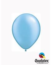 "5"" Pearl Azure (Sky Blue) Latex Balloons 100pk"
