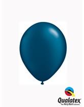 "5"" Pearl Midnight Blue Latex Balloons 100pk"